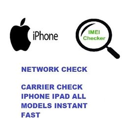 iPhone GSX Report Network and Coutry check