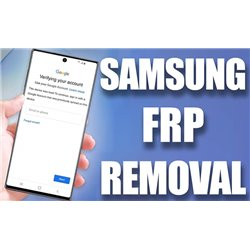 Remove Google account / FRP on Samsung phones